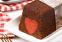 超有爱的巧克力爱心磅蛋糕的做法