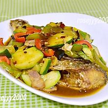 #餐桌上的春日限定#香辣蔬菜铺烤鱼
