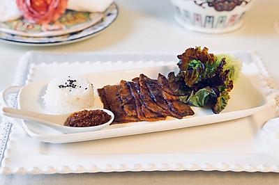 工作日晚餐韩国BBQ烤牛肉