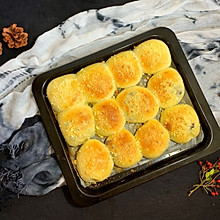 #精品菜谱挑战赛#酥粒豆沙包