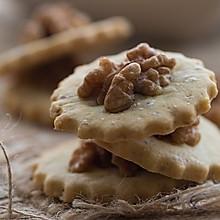 清香可口的核桃酥饼