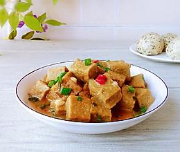 #换着花样吃早餐#葱烧冻豆腐的做法