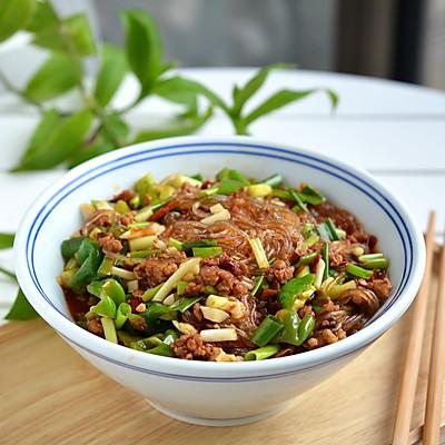 肉末辣椒炒粉条