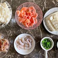 金针菇虾仁豆腐汤#花10分钟,做一道菜!#的做法图解2
