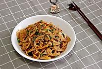 顺家私房菜——辣拌藕的做法