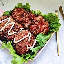 鸡肉汉堡肉