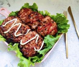 鸡肉汉堡肉的做法