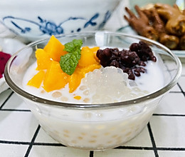 超简单的芒果西米露(西米的详细煮法)的做法