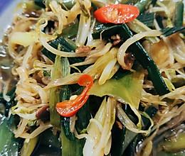 香辣炒豆芽的做法