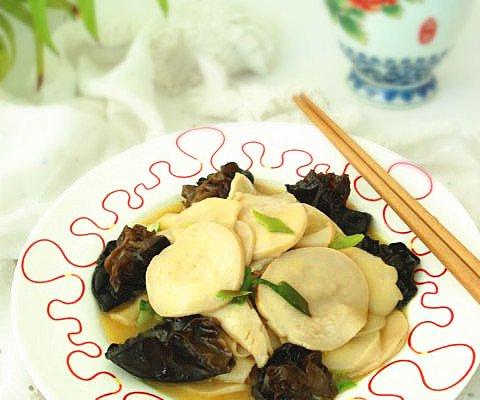 #菁选酱油试用之杏鲍菇炒木耳的做法