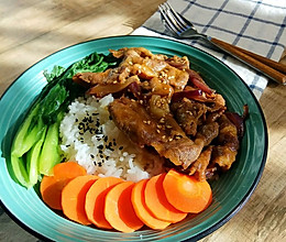 比吉野家好吃的快手日式『牛肉饭』的做法
