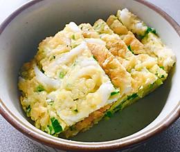 银鱼鸡蛋饼(如此简单)的做法