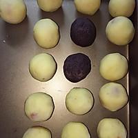 香酥蛋黄酥的做法图解3