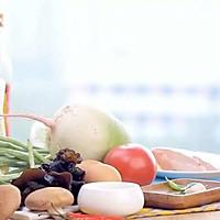健康便当9(豆角酿肉+木耳炒鸡蛋)的做法图解1