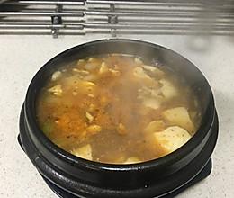 韩式辣豆腐汤的做法