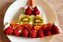 #豆果10周年生日快乐#水果吐司酸奶生日蛋糕的做法