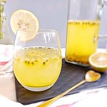 #夏日冰品不能少#百香果柠檬蜜冰饮