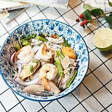 #美食新势力#泰式海鲜粉丝沙拉