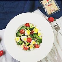橄榄油鸡蛋沙拉#丘比轻食厨艺大赛#