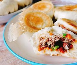 冬日必吃的胡萝卜羊肉、韭菜木耳鸡蛋水煎包