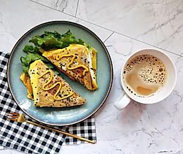 #换着花样吃早餐#网红吐司的第n种做法的做法