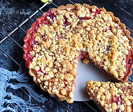 香酥双莓派的做法