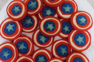 美国队长盾牌饼干