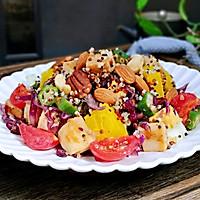 #520,美食撩动TA的心!#藜麦时蔬鸡胸沙拉的做法图解13