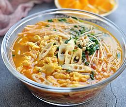 番茄鲜笋汤面的做法