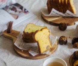 秋日の蛋糕【糖酒栗子南瓜磅蛋糕】的做法