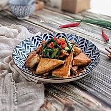 超级下饭的香煎豆腐块