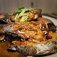 #美食视频挑战赛# 家常红烧鲅鱼