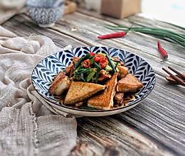 超级下饭的香煎豆腐块的做法