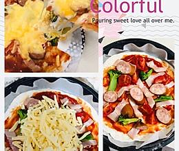 #餐桌上的春日限定#午餐批萨的做法