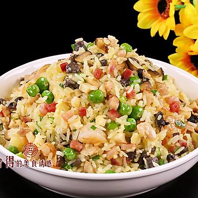 扬州炒饭那么有名, 真是火腿肠加胡萝卜炒的? 看看厨子怎么炒