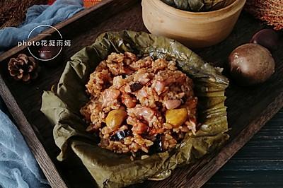 年夜饭必吃菜,荷叶糯米鸡