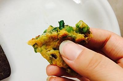 香椿鸡蛋煎饼