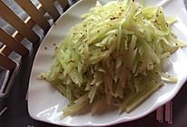 麻油莴苣的做法