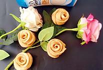 香槟玫瑰馒头#嘉宝辅食宝典#的做法