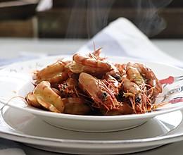 炒虾,十分简单的一道大虾做法的做法