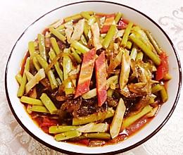 #豆果10周年生日快乐#蒜苔蒸的很好吃的做法