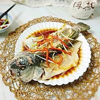 #硬核菜谱制作人#清蒸美国红鱼的做法图解5