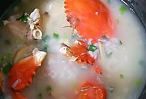 蟹粥的做法