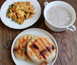 牛肉香菇馅饼#急速早餐#的做法