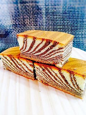 斑马纹戚风蛋糕【图片】