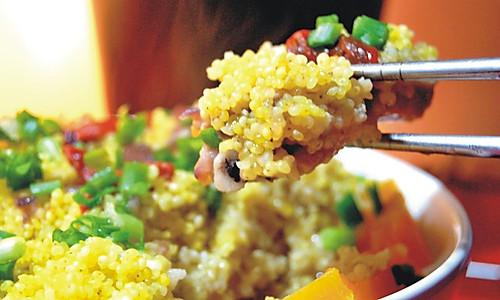 秋天的色彩----排骨蒸小米南瓜的做法