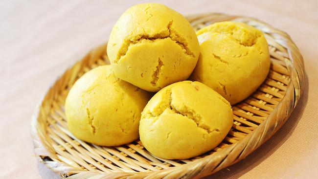 【舌尖美食之旅】黄老汉的黄馍馍的做法