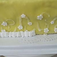 换个方式做翻糖花---翻糖蛋糕(七)---桃花盛开的做法图解55