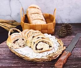 奇亚籽蜜豆燕麦软欧的做法
