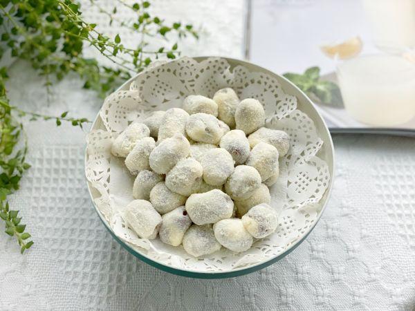网红小零食杏仁奶枣的做法